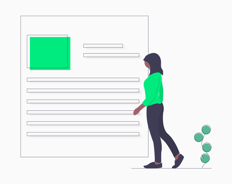 Blog Design Infographic